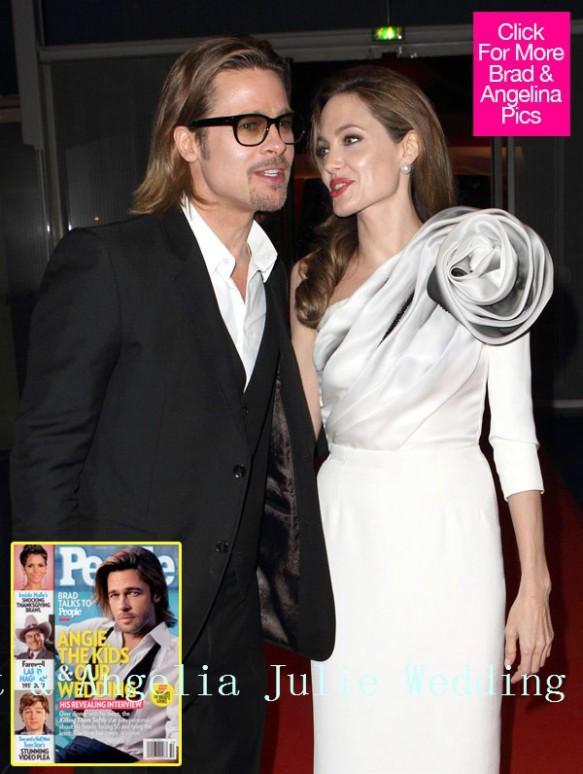 Wedding Bell Brad Pitt And Angelina Jolie S Wedding Ceremony Wedding Fashion 2013 Weddingguideline