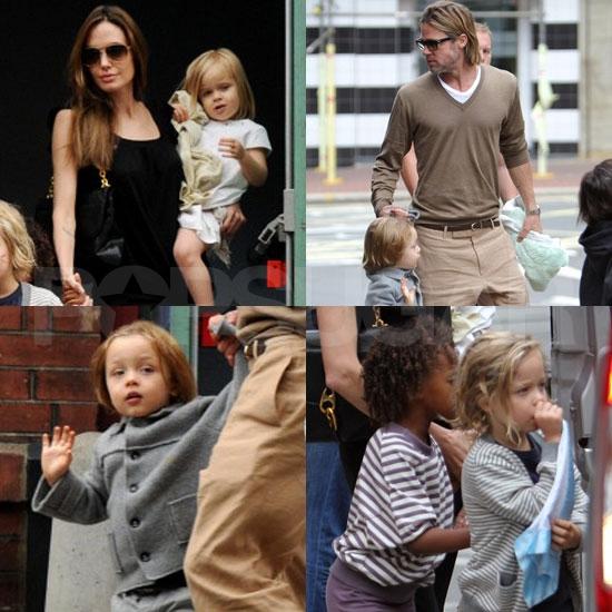 Brad Pitt And Angelina Jolie Wedding: Jolie-Pitt-Family