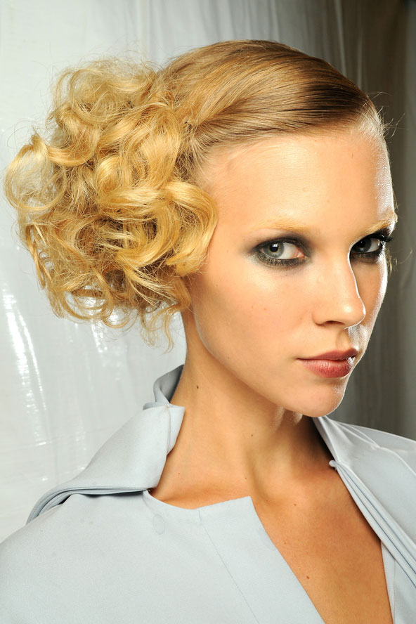 Sexy Wedding Guest Hairstyle