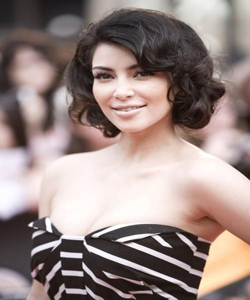 Kim Kardashian Hairstyles Weddingguideline