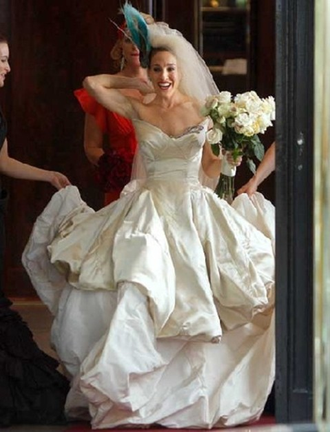 How to Wear on Your Big Day------Get Inspiration from Brides in Movies